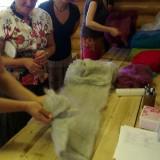 """25. ja 29. juunil 20113 toimus Laitse Seltsimajas koolitus """"Susside viltimine""""."""